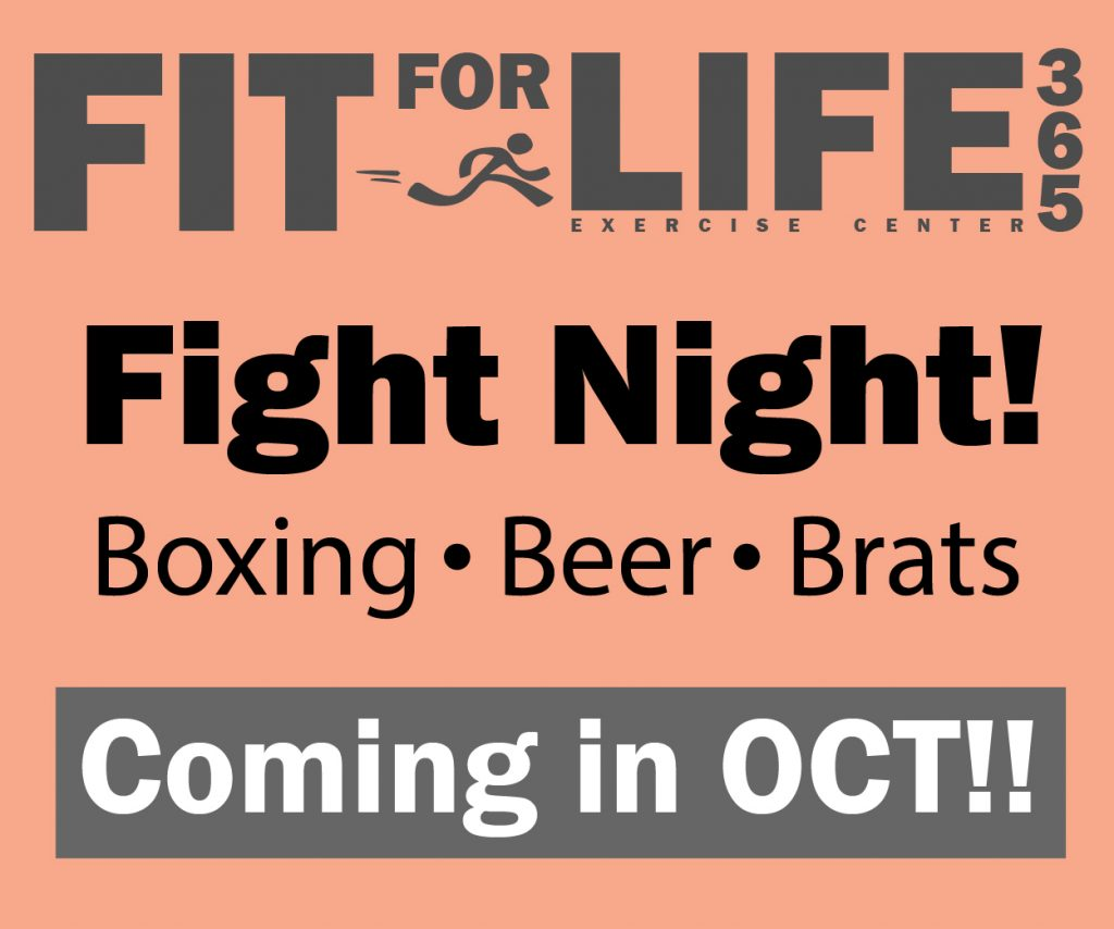 Fit For Life 365 Fight Night West Linn